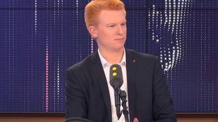 Adrien Quatennens, député du Nord et coordinateur de La France insoumise. (FRANCEINFO / RADIOFRANCE)
