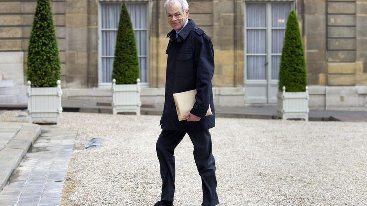 Le Contrôleur général des lieux de privation de liberté, Jean-Marie Delarue, à l'Elysée, le 02 mai 2011 à Paris. (BERTRAND LANGLOIS / AFP)