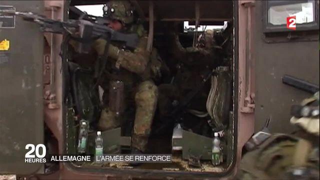 Allemagne : l'armée se renforce après 25 ans de diète