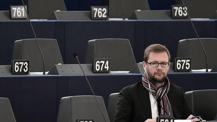 Le député européen, Jérôme Lavrilleux. (FREDERICK FLORIN / AFP)