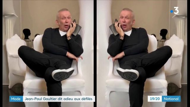 Mode : Jean-Paul Gaultier dit adieu aux défilés