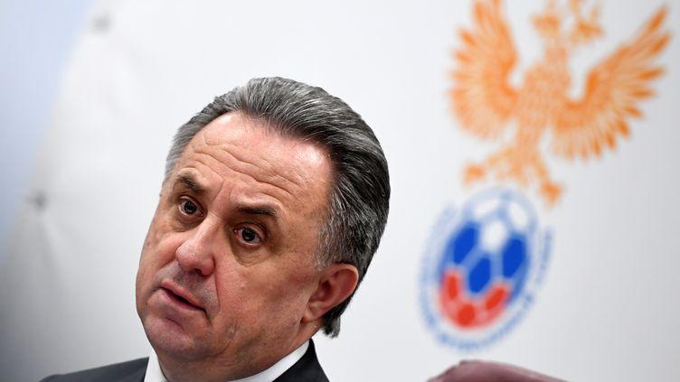 Vitaly Mutko, ici à Moscou le 7 mars. (KIRILL KUDRYAVTSEV / AFP)