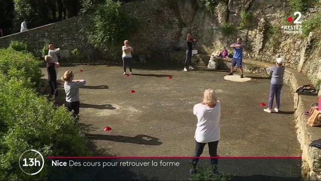 Nice : des cours de sport dédiés aux seniors pour retrouver la forme