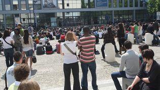 A la rentrée 2017,1400 étudiants étaient inscrits en liste d'attente pour intégrer la filière sport Staps à l'université de Bordeaux.(Photo d'illustration) (MAXPPP)
