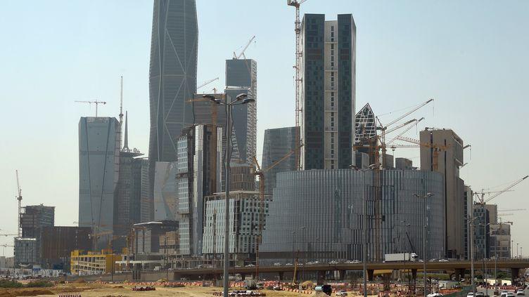 Un chantier mené par Saudi Oger à Ryiad (Arabie saoudite) en 2016. (FAYEZ NURELDINE / AFP)