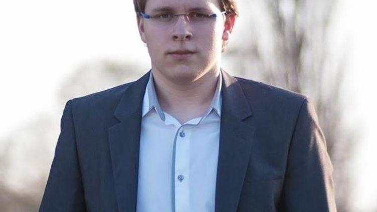 La photo de profil de Romain Thomann, candidat FN à Colmar (Haut-Rhin) aux élections départementales. Dimanche 22 mars 2015, il s'est qualifié pour le deuxième tour. (ROMAIN THOMANN)
