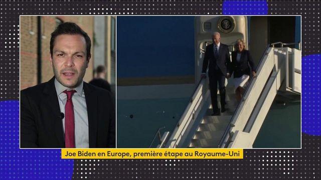 États-Unis/Europe : les grands rendez-vous de la tournée de Joe Biden