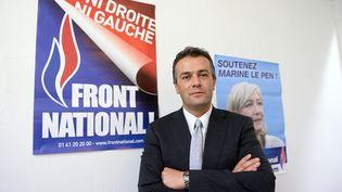 Laurent Lopez, le 7 octobore 2013 à Brignoles (Var). (ANNE-CHRISTINE POUJOULAT / AFP)