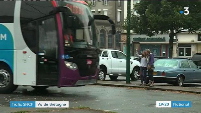 Trafic SNCF : la situation vue de Bretagne