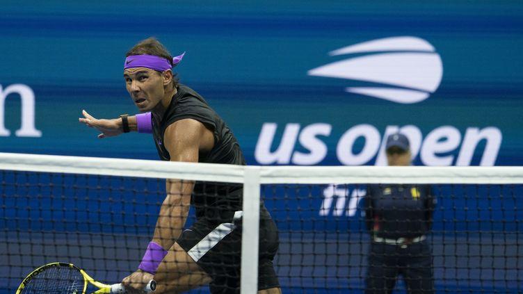 Rafael Nadal lors de l'US Open 2019 (DON EMMERT / AFP)