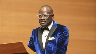 Alain Mabanckou au Collège de France, 17 mars 2016  (JACQUES DEMARTHON / AFP)