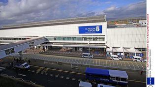 L'aéroport de Glasgow, où Guy J. a été arrêté à tort le 11 octobre 2019, ici photographié en 2015. (GARRY F MCHARG / REX SHUT / SIPA)