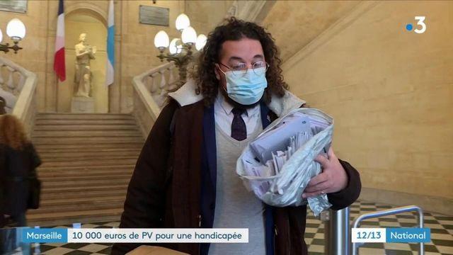 Marseille : 10 000 euros de PV de stationnement pour la détentrice d'une carte d'invalidité