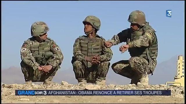Barack Obama renonce au retrait de ses troupes d'Afghanistan