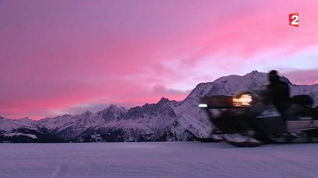Feuilleton :  un hiver au Mont-Blanc (1/5)
