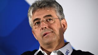 Lepatron de la Groupama-FDJ, Marc Madiot (LIONEL BONAVENTURE / AFP)