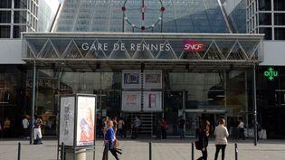La gare de Rennes (Ille-et-Vilaine) en septembre 2013. (DAMIEN MEYER / AFP)
