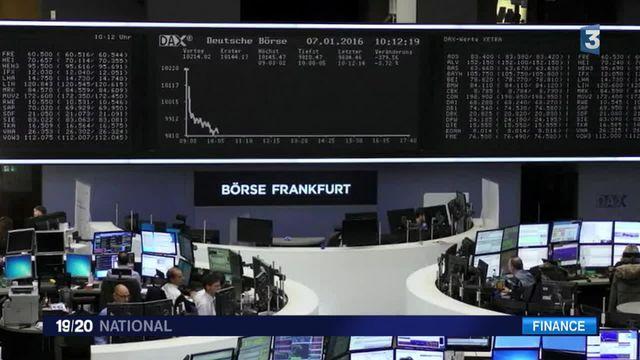 Quand la bourse chinoise décroche, ce sont les bourses mondiales qui tremblent