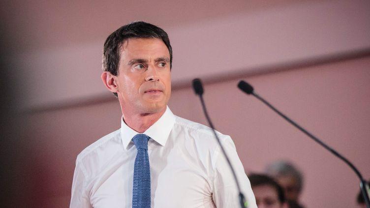(Illustration : Manuel Valls lors d'un meeting le 8 juin 2016 © MAXPPP)