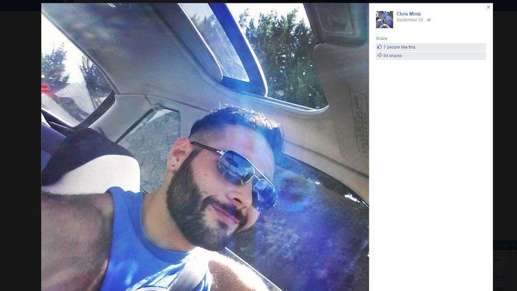 Capture d'écran d'une photo postée par Chris Mintz sur Facebook, le 29 septembre 2015. (CHRIS MINTZ / FACEBOOK)