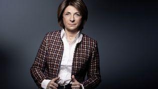 L'ancienne candidate LR à la mairie de Marseille Martine Vassalle 8 janvier 2020 à Paris. (JOEL SAGET / AFP)