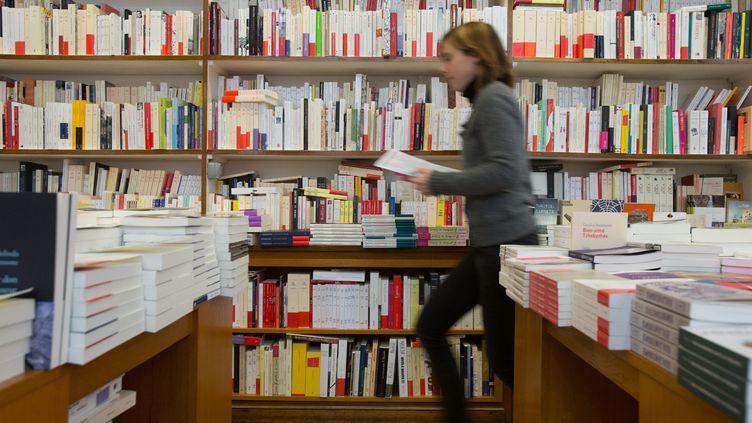 Dans une librairie indépendante de Bordeaux. (SERGE POUZET/SIPA)