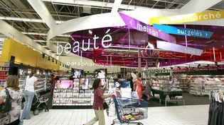 Dans un rayon de supermarché à Vénissieux (Rhône-Alpes), en 2014. (MAXPPP)
