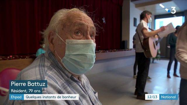 Isère : des choristes bénévoles viennent égayer le quotidien d'un Ehpad