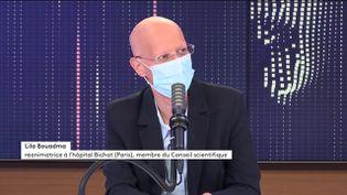 Lila Bouadma, réanimatrice à l'hôpital Bichat et membre du Conseil scientifique sur franceinfo le 11 mai 2021. (FRANCEINFO / RADIOFRANCE)