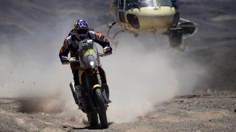 Marc Coma défend son titre sur le Dakar 2015