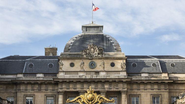La façade du palais de justice de Paris, en décembre 2014. (  MAXPPP)