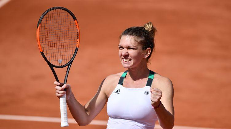 La joueuse roumaine Simona Halep (MUSTAFA YALCIN / ANADOLU AGENCY)