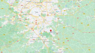 La rixe mortelle a eu lieu à Boussy-Saint-Antoine (Essonne), le 23 février 2021. (GOOGLE MAPS)