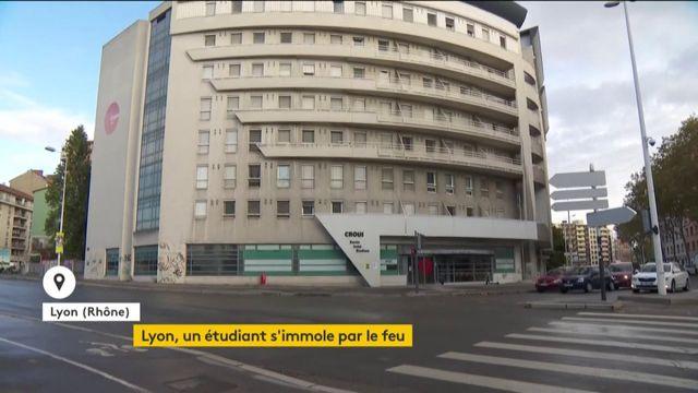 Lyon : un étudiant en difficulté financière s'immole par le feu