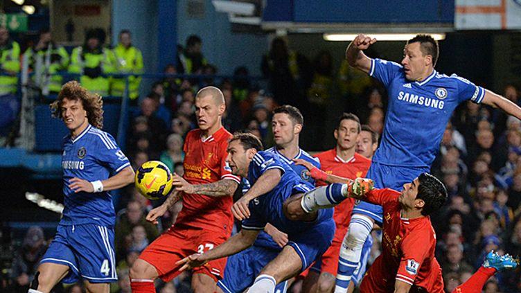 Chelsea se déplace à Liverpool pour un match décisif dans la course au titre. (BEN STANSALL / AFP)