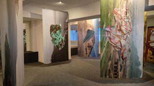 """Une vingtaine d'artistes contemporains exposent dans l'ancien musée Pierre Cardin (Nicolas Blscak / Daniela Macé-Rossiter : Série """"After midnight"""")"""