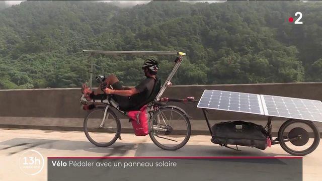 Sun Trip : un tour de l'Europe en vélo électrique alimenté par un panneau solaire