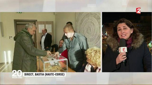 Élections territoriales en Corse : les électeurs peu mobilisés