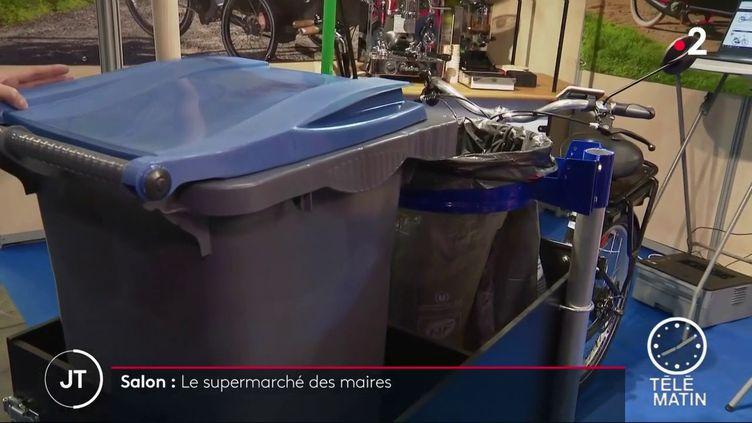 Un triporteur utilitaire économique et écologique (France 2)