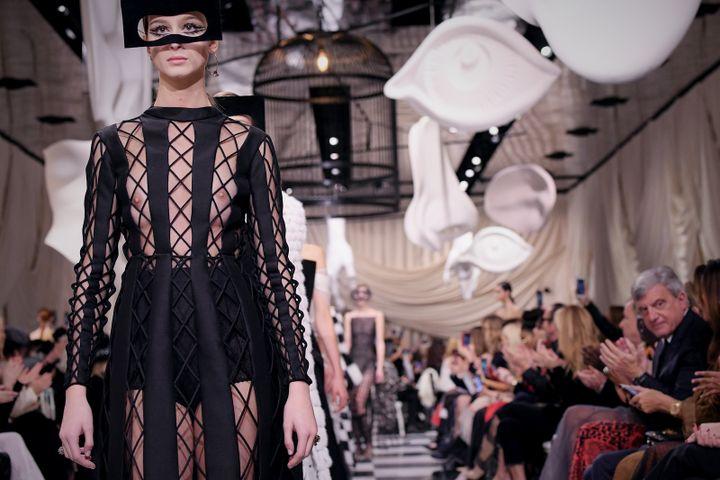 Dior haute couture printemps-été 2018 à Paris, 22 janvier 2018  (Getty Images)