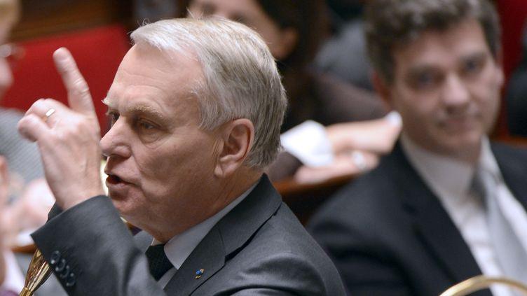 Le Premier ministre, Jean-Marc Ayrault, à l'Assemblée nationale, le 4 décembre 2012. (BERTRAND GUAY / AFP)