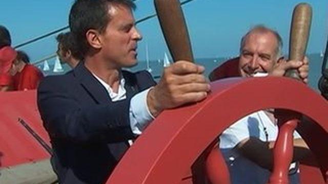 La Rochelle : Manuel Valls réaffirme sa position de capitaine