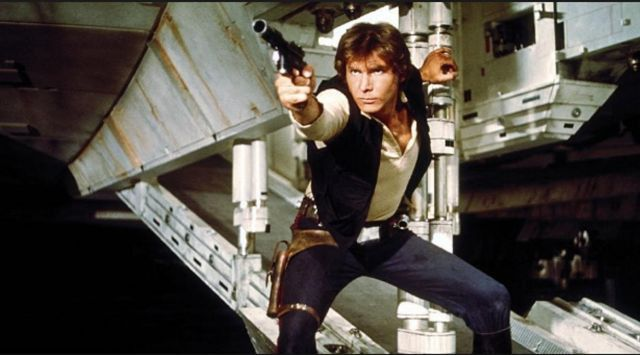 "Harrison Ford dans le rôle de Han Solo dans ""Star Wars -Episode 5 : L'Empire contre-attaque"" de Irwin Kirshner. (TWENTIETH CENTURY FOX FRANCE)"