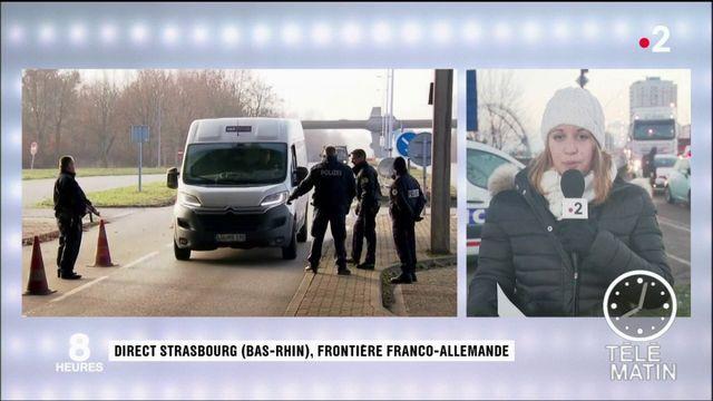 Attaque de Strasbourg : les contrôles renforcés à la frontière