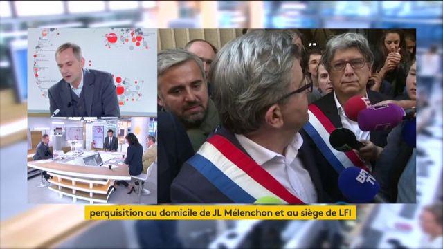 """Mélenchon perquisitionné : """"Je ne me laisserai pas faire"""""""