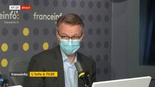Dominique Schelcher était l'invité de franceinfo jeudi 29 octobre. (FRANCEINFO / RADIOFRANCE)