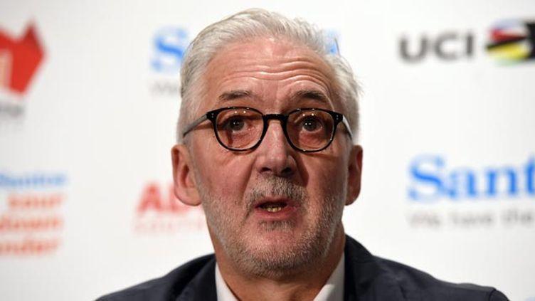 (Brian Cookson, le président de l'UCI a confirmé cette première fraude mécanique © maxPPP)
