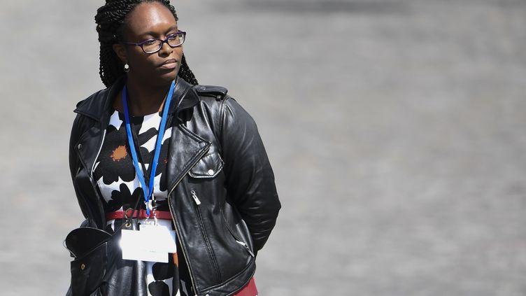 Sibeth Ndiaye, le 14 mai 2017 à Paris. (MARTIN BUREAU / AFP)