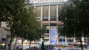 Le stade Santiago Barnabeu à Madrid. (CYRILLE ARDAUD / RADIO FRANCE)