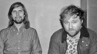 Pedro Winter, le patron de Ed Banger, et Bertrand de Langeron, alias So-Me, son directeur artistique.  (Ed Banger)